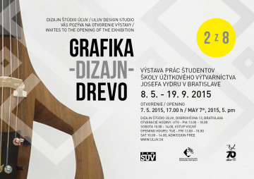 BRATISLAVA - Dizajn, tvarovanie dreva a propagačná grafika. @ Dizajn štúdio ÚĽUV | Bratislava | Bratislavský kraj | Slovenská republika