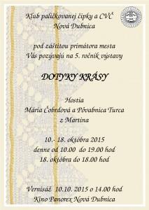 NOVÁ DUBNICA - Dotyky krásy @  Kino Panorex Nová Dubnica | Nová Dubnica | Trenčiansky kraj | Slovensko