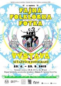 SPIŠSKÁ NOVÁ VES - Fajna Folklórna Fotka. @ Spišské osvetové stredisko | Spišská Nová Ves | Košický kraj | Slovensko