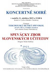 TERCHOVÁ - Koncertné soiré @ Kostol sv. Cyrila a Metoda, Terchová | Terchová | Žilinský kraj | Slovensko