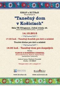 KOŠICE - Tanečný dom v Košiciach @ Sála TK Elegance, Južná Trieda | Košice | Košický kraj | Slovensko
