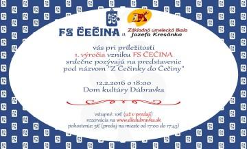 BRATISLAVA - Z Čečinky do Čečiny @ Dom kultúry Dúbravka | Bratislava | Slovensko