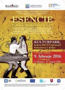 KOŠICE - Esencie folklórneho sveta @ Kasárne KULTURPARK, budova BRAVO | Košice | Slovensko