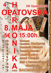 OPATOVÁ NAD VÁHOM - Opatovská harmonika. @ Dom kultúry | Trenčín | Trenčiansky kraj | Slovensko