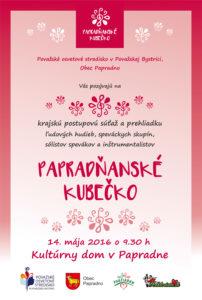 PAPRADNO - Papradňanské kubečko @ Kultúrny dom, Papradno | Papradno | Trenčiansky kraj | Slovensko