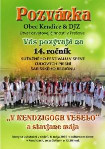 KENDICE - V Kendzicoch vešelo. @ Kultúrný dom | Kendice | Prešovský kraj | Slovensko