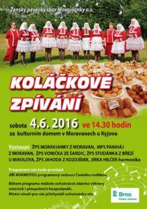 CZ- MORAVANY U KYJOVA - Kolačkové zpívání @ za kultúrnym domom | Moravany | Juhomoravský kraj | Česká republika