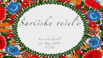 FINTICE - šarišske vešeľe @ Grófske nádvorie | Fintice | Prešovský kraj | Slovensko