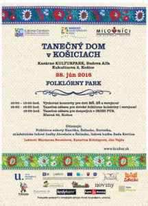 KOŠICE - Tanečný dom @ Kulturpark, Budova Alfa | Košice | Slovensko