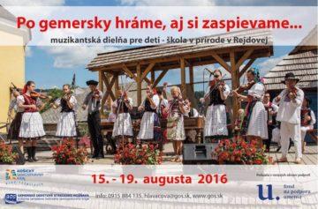 REJDOVÁ - Po gemersky hráme aj si zaspievame @ Rejdová | Rejdová | Košický kraj | Slovensko