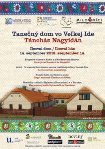VEĽKÁ IDA - Tanečný dom @ Dom Ilosvai, Veľká Ida | Veľká Ida | Košický kraj | Slovensko