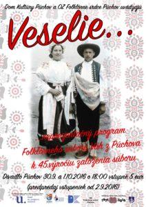 PÚCHOV - 45. výročie FS Váh @ Divadlo Púchov, Púchov | Púchov | Trenčiansky kraj | Slovensko