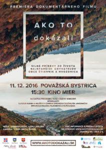 POVAŽSKÁ BYSTRICA - Ako to dokázali @ Kino mier, Považská Bystrica | Považská Bystrica | Trenčiansky kraj | Slovensko