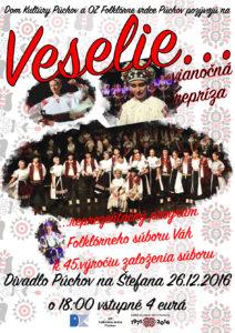 PÚCHOV - Veselie @ Divadlo Púchov, Púchov | Púchov | Trenčiansky kraj | Slovensko