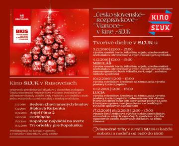 BRATISLAVA - Česko-slovenské rozprávkové Vianoce @ Kino SĽUK, Bratislava, Rusovce | Bratislava | Slovensko