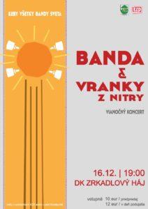 BRATISLAVA - Banda a Vranky @ DK Zrkadlový háj, Bratislava | Bratislava | Slovensko