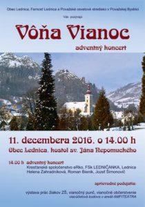 LEDNICA - Vôňa Vianoc. @ kostol sv Jána Nepomuckého | Lednica | Trenčiansky kraj | Slovensko