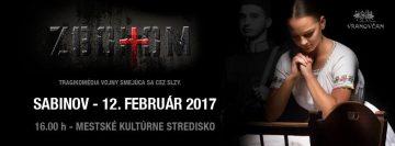 SABINOV - ZBOHOM @ MsKS - Kino Torys | Slovensko