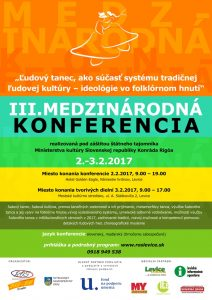 LEVICE - 3. Medzinárodná konferencia @ Hotel Golden Eagle a Mestské kultúrne stredisko, Levice | Levice | Slovensko