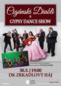 BRATISLAVA - Cigánski diabli & Gypsy Dance show @ DK Zrkadlový háj, Bratislava   Bratislava   Slovensko