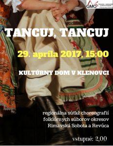 KLENOVEC - Tancuj tancuj @ Kultúrny dom Klenovec   Klenovec   Slovensko
