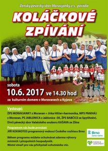 MORAVANY U KYJOVA - Koláčkové zpívání @ Moravany u Kyjova   Moravany   Česko