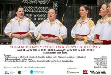 ŽILINA - Vokálne prejavy vo folklórnych kolektívoch @ Makovického dom   Slovensko