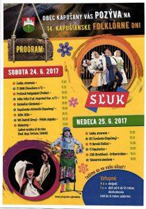 KAPUŠANY - 14.Kapušianske folklórne dni @ Prírodný amfiteáter | Kapušany | Slovensko