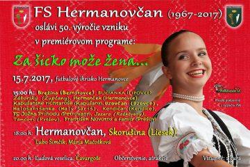 HERMANOVCE - Za šicko može žena... @ futbalové ihrisko   Hermanovce   Slovensko