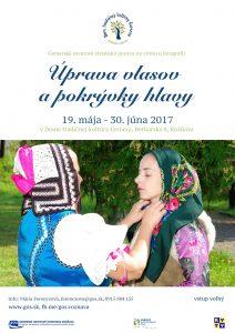 ROŽŇAVA - Úprava vlasov a pokrývky hlavy @ Dom tradičnej kultúry Gemera, Rožňava   Rožňava   Slovensko