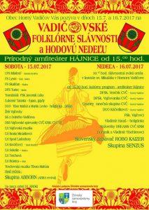 HORNÝ VADIČOV - Vadičovské folklórne slávnosti @ Horný Vadičov   Horný Vadičov   Slovensko
