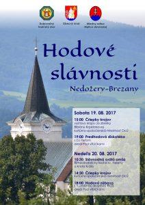 NEDOŽERY-BREZANY - Hodové slávnosti @ Obecný úrad, Areál Pod vŕbičkami Nedožery-Brezany | Nedožery - Brezany | Slovensko