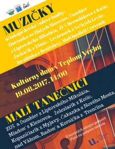 TEPLÝ VRCH- Muzičky a malí tanečníci @ Teplý Vrch | Teplý Vrch | Slovensko