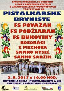 BRVNIŠTE - Píšťalskárske Brvnište @ Brvnište, Historická škola – múzeum, Brvnište č. 500 | Brvnište | Slovensko