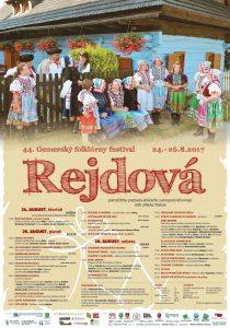 REJDOVÁ - 44. Gemerský folklórny festival @ Rejdová | Rejdová | Slovensko