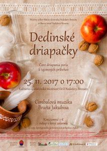 NEDOŽERY-BREZANY - Dedinské driapačky @ Kultúrno-spoločenská miestnosť OcÚ, Nedožery-Brezany | Trenčiansky kraj | Slovensko