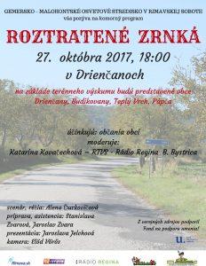 DRIENČANY - Roztratené zrnká @ Drienčany | Drienčany | Banskobystrický kraj | Slovensko