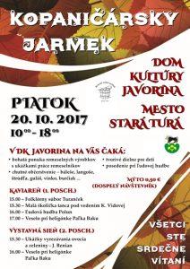 STARÁ TURÁ - Kopaničársky jarmek @ Dom kultúry Javorina | Stará Turá | Trenčiansky kraj | Slovensko