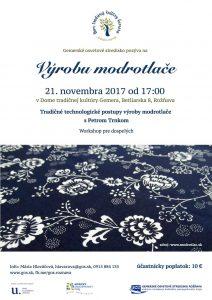 ROŽŇAVA - Výroba modrotlače @ Dom tradičnej kultúry Gemera Rožňava | Košický kraj | Slovensko