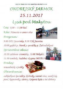 LYSÁ POD MAKYTOU - Ondrejský jarmok @ Námestie vcentre obce, Lysá pod Makytou | Lysá pod Makytou | Trenčiansky kraj | Slovensko