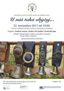 ROŽŇAVA - U nás taká obyčaj - zvonkárstvo @ Dom tradičnej kultúry Gemera vRožňave | Košický kraj | Slovensko