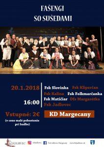 MARGECANY - Fašengi so sušedami @ KD Margecany | Margecany | Košický kraj | Slovensko