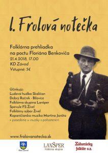 ZÁVOD - Frolova notečka @ Kultúrny dom, Závod | Závod | Bratislavský kraj | Slovensko