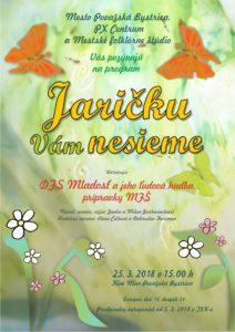 POVAŽSKÁ BYSTRICA - Jaričku vám nesieme @ Kino Mier, Považská Bystrica | Považská Bystrica | Trenčiansky kraj | Slovensko