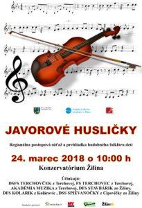 ŽILINA - Javorové husličky 2018 @ Konzervatórium v Žiline | Žilina | Žilinský kraj | Slovensko