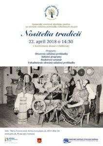 DOBŠINÁ - Nositelia tradícií 2018 @ Kultúrny dom v Dobšinej  | Košický kraj | Slovensko