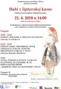 ŽILINA - Habi zliptovskej kasne @ Makovického dom, Žilina | Žilinský kraj | Slovensko
