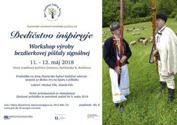 ROŽŇAVA - Dedičstvo inšpiruje @ Dom tradičnej kultúry Gemera, Betliarska 8, Rožňava | Košický kraj | Slovensko