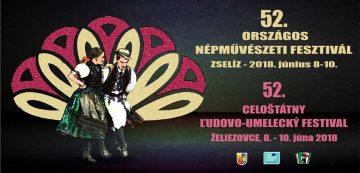 ŽELIEZOVCE - 52. Celoštátny ľudovo-umelecký festival @ Želiezovský mestský park, Želiezovce | Želiezovce | Nitriansky kraj | Slovensko