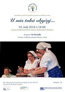 ROŽŇAVA - Na Rosadľa vPači @ Dom tradičnej kultúry Gemera vRožňave | Košický kraj | Slovensko